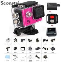 New Arrival Bundle Action Camera 100% Underwater H9/H9R Ultra HD 4K 30M Sport 2.0′ Screen 1080p FHD Go Waterproof Pro Camera
