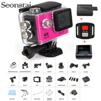 New Arrival Bundle Action Camera 100 Underwater H9 H9R Ultra HD 4K 30M Sport 2 0
