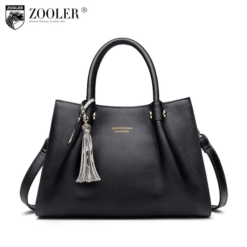 LIMITED &ZOOLER 2018 woman leather handbag luxury elegant genuine leather bags women shoulder bags OL lady beloved  bolsos#H109