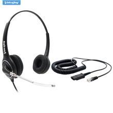 Casque découte HD de bureau avec microphone pour téléphones CISCO 7940,7960,7965 6921,6941,6945 8841,8941,8945 8961,9951.9971 etc.