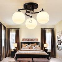 Modern Minimalist 3 Heads Ceiling Lights LED Lamp For Living Room Dining Room