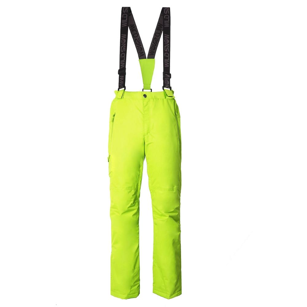 Pantalon de ski professionnel imperméable coupe-vent pour femme taille élastique épaisse pantalon de patinage de Snowboard chaud pour femme - 4