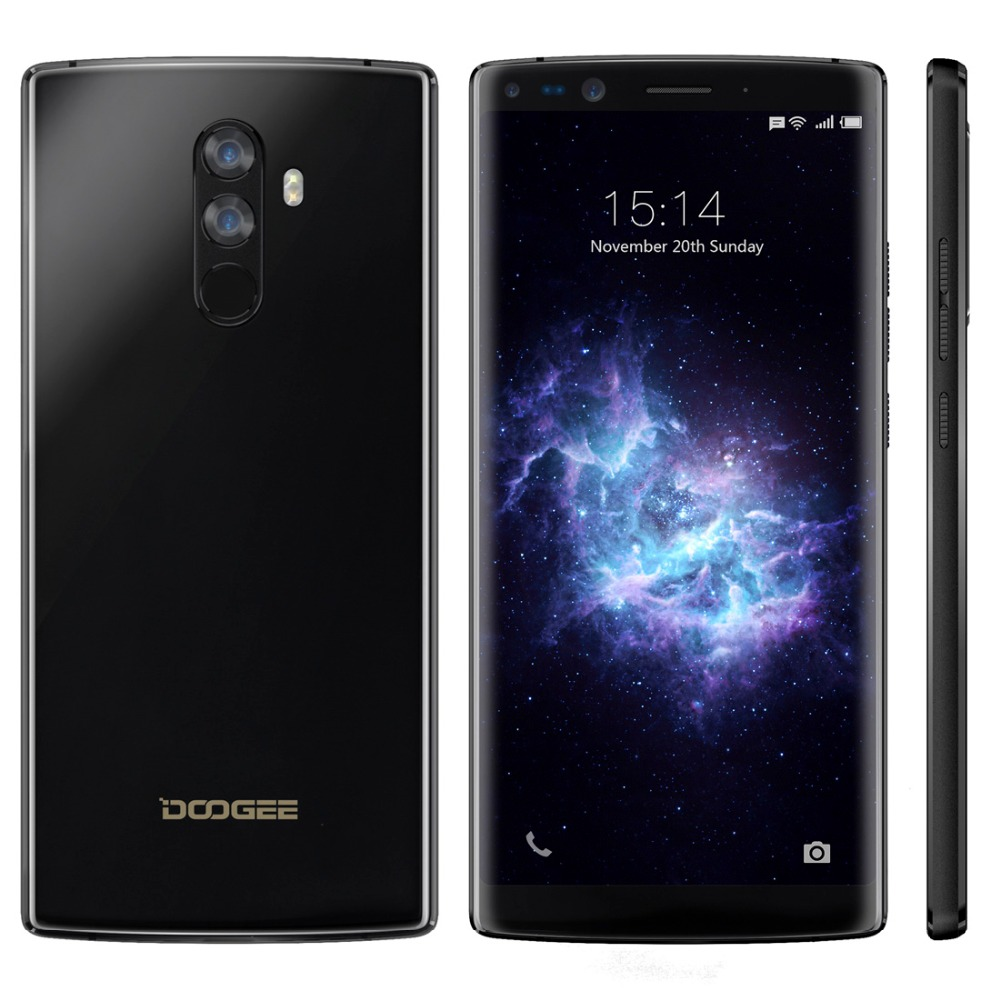 DOOGEE Mix 2 Android 7.1 Smartphone 4060 mAh 5,99 ''FHD Helio P25 Octa Core 6 GB RAM 64 GB ROM 4G Handy 4 Kameras 2160 x 1080px