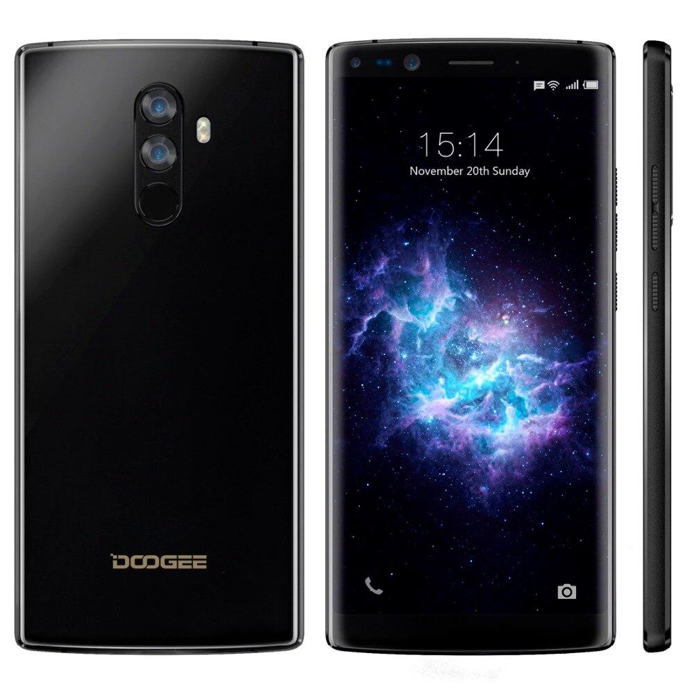 DOOGEE Mix 2 Android 7.1 Smartphone 4060mAh 5.99 FHD Helio P25 Octa Core 6GB RAM 64GB ROM 4G Cellphone 4 Cameras 2160 x 1080px