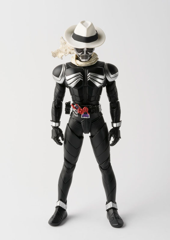 Kamen Rider W & Decade Movie War 2010 Original BANDAI Tamashii Nations S.H. Figuarts / SHF Action Figure - Kamen Rider Skull 100% original bandai tamashii nations s h figuarts shf action figure rin suzunoki rider suit page 9