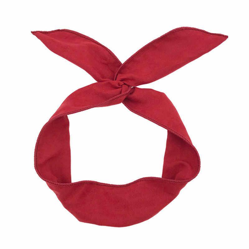 Многофункциональные регулируемые повязки на голову с принтом в полоску, цветок, Женская повязка на голову с металлической проволокой, креативная головная повязка для девочки, аксессуары для волос