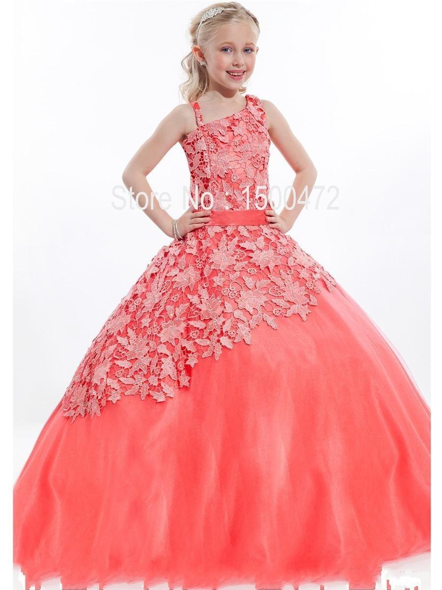 Promoción de Vestido Del Desfile En El Color De Coral - Compra ...