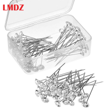 Lmdz 4 Размеры 100/40/20 шт. блеск алмазов шпильки с кристаллической головкой для свадьбы или корсаж-бутоньерка цветочный букет булавки с Пластик коробка