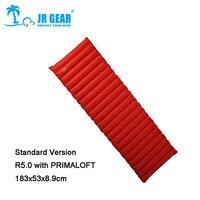 JR Gear Single PRIMALOFT R5.0 183 x 51 x 8.9cm Thermal Resistance Waterproof Tearproof Cushion Air Bed Sleeping Mattress Pad