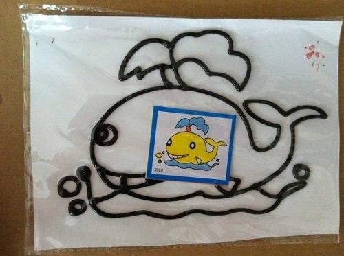100 шт./лот темперная живопись Фотографии, 11*19 см, «сделай сам» с цветным рисунком