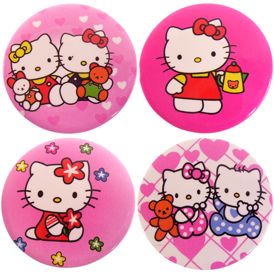 360a285fc 5 PCS New cute hello kitty badge-in Badges from Home & Garden on ...
