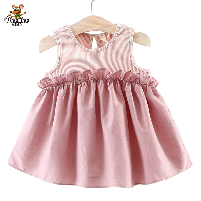 Picemice Brand Baby Girl Dresses Birthday Outfits Little Bridresmaid
