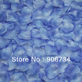 Decorative For Wedding  Blue  Flowers Petals Silk  Rose New 2013 New Free Shipping