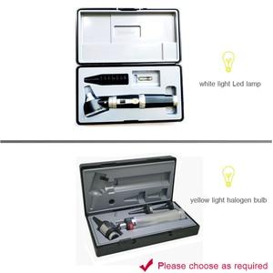 Image 5 - Быстрая доставка, Профессиональный Диагностический Отоскоп, медицинское зеркало для ушей с галогенсветильник кой, проверка барабана