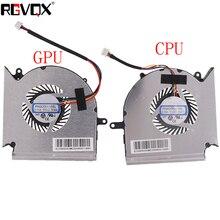 цена на new for MSI GE63VR MS-16P1 GE73VR MS-17C1 CPU & GPU Fan PAAD060105SL N383 N384
