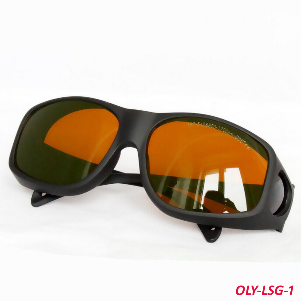 New 190-540 & 800-1700nm laser safety glasses(Style 9) high VLT and O.D 5+ than before kitcox70427crwia130af value kit crews inertia safety glasses crwia130af and glad forceflex tall kitchen drawstring bags cox70427