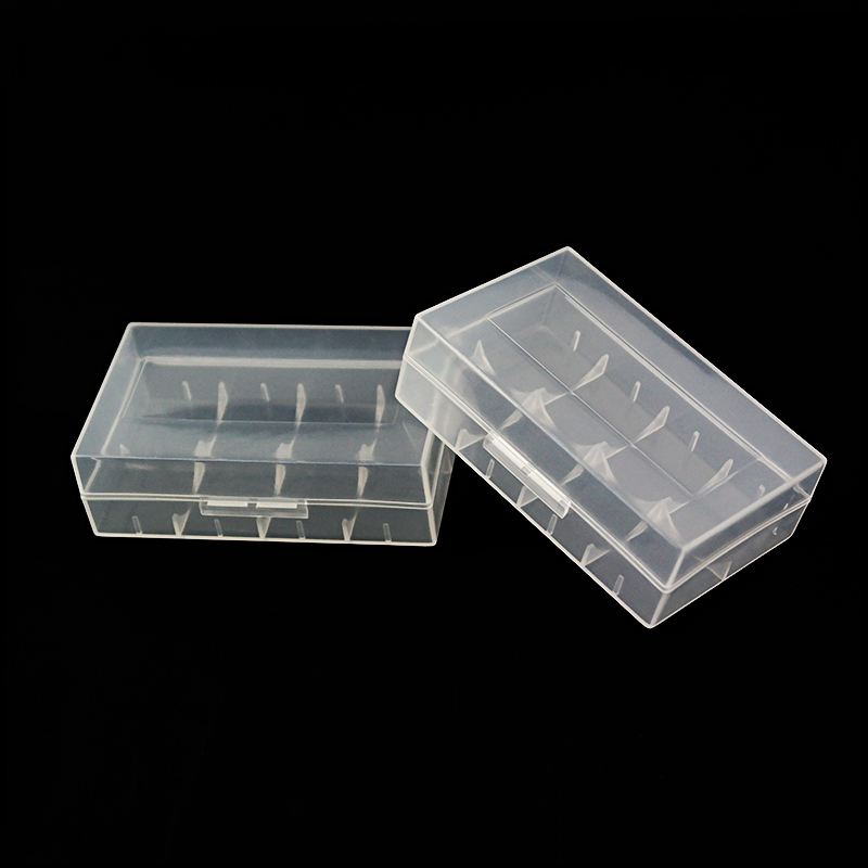 5pcs /lot Cheap Vbatty 20700 battery case portable plastic dual box for 21700 Storage Case Box Holder AA AAA