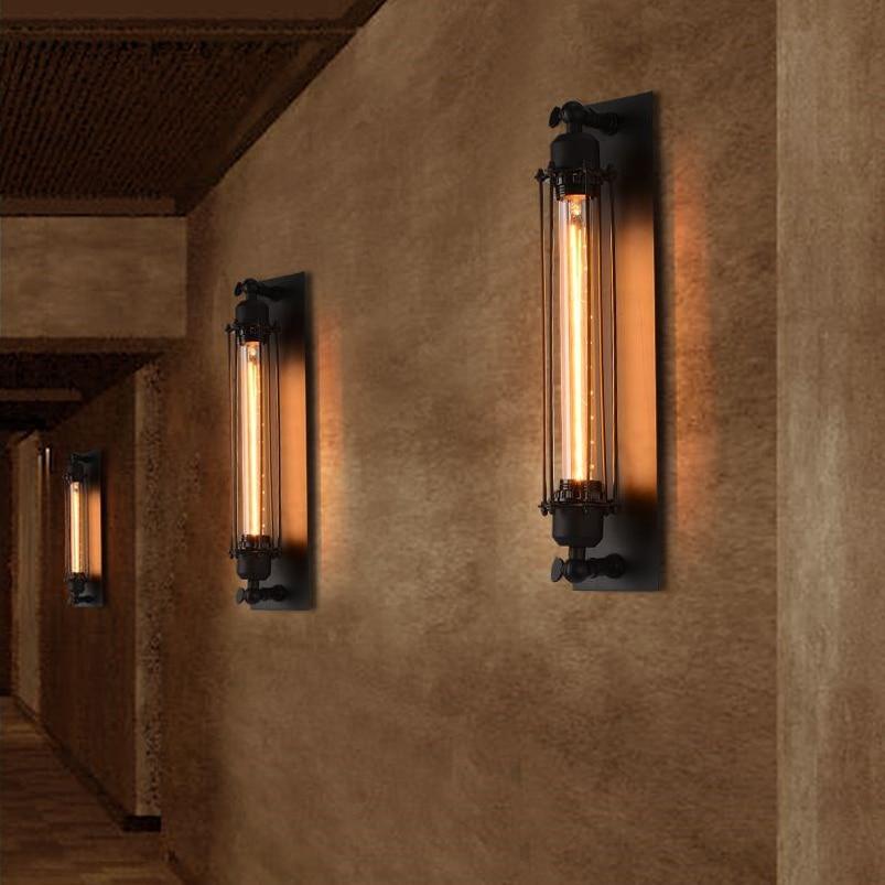 Lâmpadas de Parede vintage sutiã ferro loft lâmpadas Marca : Wecus
