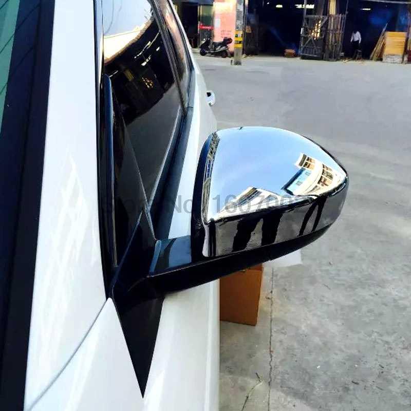 Для Land Rover Дискавери Спорт 2015 2шт ABS хром автомобиля боковые зеркала заднего вида коврики для стола или пола литья отделка автомобиля аксессуары