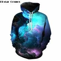 PLstar Cosmos Drop Shipping 2018 New Fashion 3d Hoodies Mens Womens Sweatshirt Galaxy Space Print Hoody