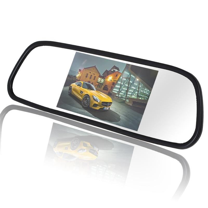 5 Inch 480 x 272 Түсті TFT LCD Автомобиль Айна - Автомобиль электроникасы - фото 2