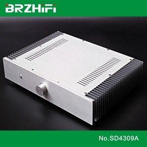 Brzhi-Fi SD4309A двойной радиатор алюминиевый корпус для усилителя мощности