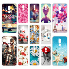 Phone Case For Meizu M8 Lite Cases Silicone Bumper On the Fo