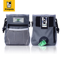 KIMHONE PET Dog Treat Pouch Nylon Bag Training Treats Toys Carrier Bags Waste Bag Poop Bag