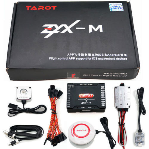 Tarot ZYX-M Flight Control GPS Combo PMU Module For FPV Multicopter Drone ZYX25 tarot zyx bd 2 4g bluetooth data transmission module with 5 8g antenna for zyx m flight controller quadcopter drone rc fpv zyx27