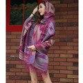 200 cm * 80 cm Las Mujeres Embarazadas mujeres embarazadas Maternidad capa capa de lana chal Chal de Gran Tamaño femenino