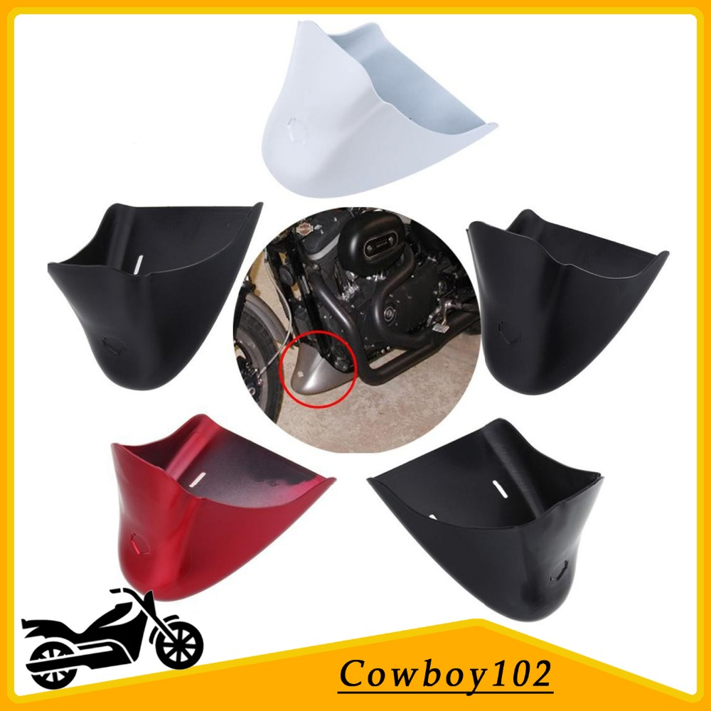 Motor Lower Fairing Chin Fairing Front Belly Pan Spoiler For Harley Davidson Sportster 883 XL1200 XL 1200 2004 - 1014 5 Colors mtsooning timing cover and 1 derby cover for harley davidson xlh 883 sportster 1986 2004 xl 883 sportster custom 1998 2008 883l
