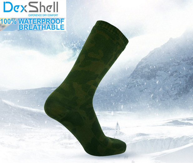 Men high quality knee-high breathable merino wool coolmax hunting waterproof/windproof Camouflage military outdoor sports socks цена 2017