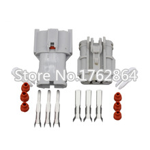5 set (Male + female) 3P connector Automotive Connectors  DJ7031Y-2-11/21 auto lamp holder  fog plug , Headlight assembly plug цена и фото