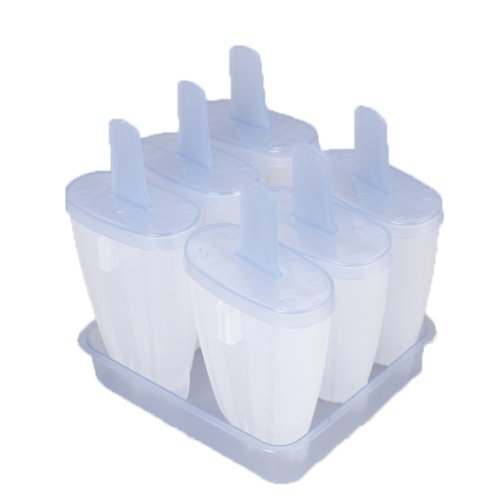 Pack 6 Popsicle Cream Glacee molds