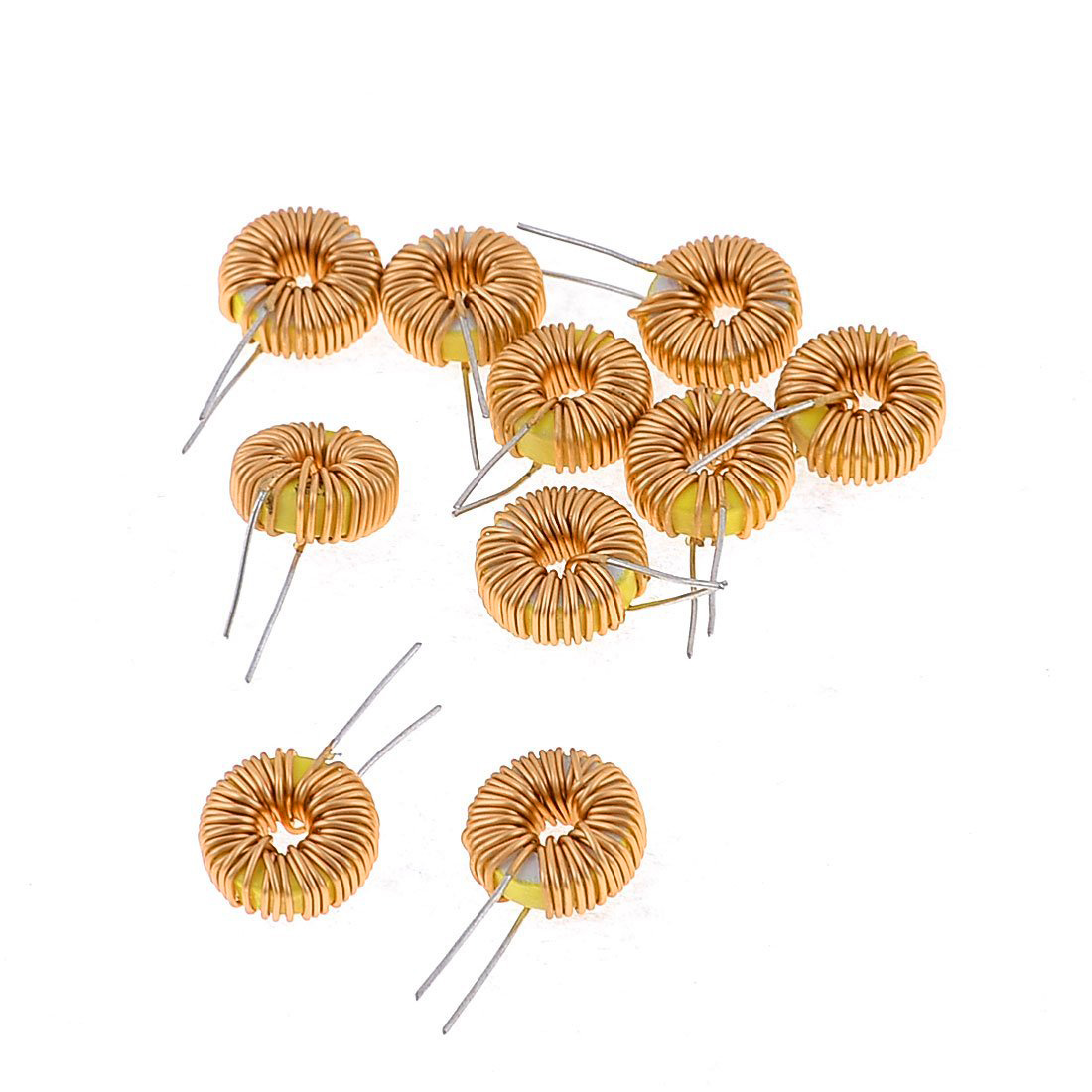 10 Pcs Toroid Core Inductor Wire Wind Wound 47uh 38mohm 3a Coil In Circuit For An Can Be Comprised Of Coils Inductors From Home Improvement On Alibaba Group