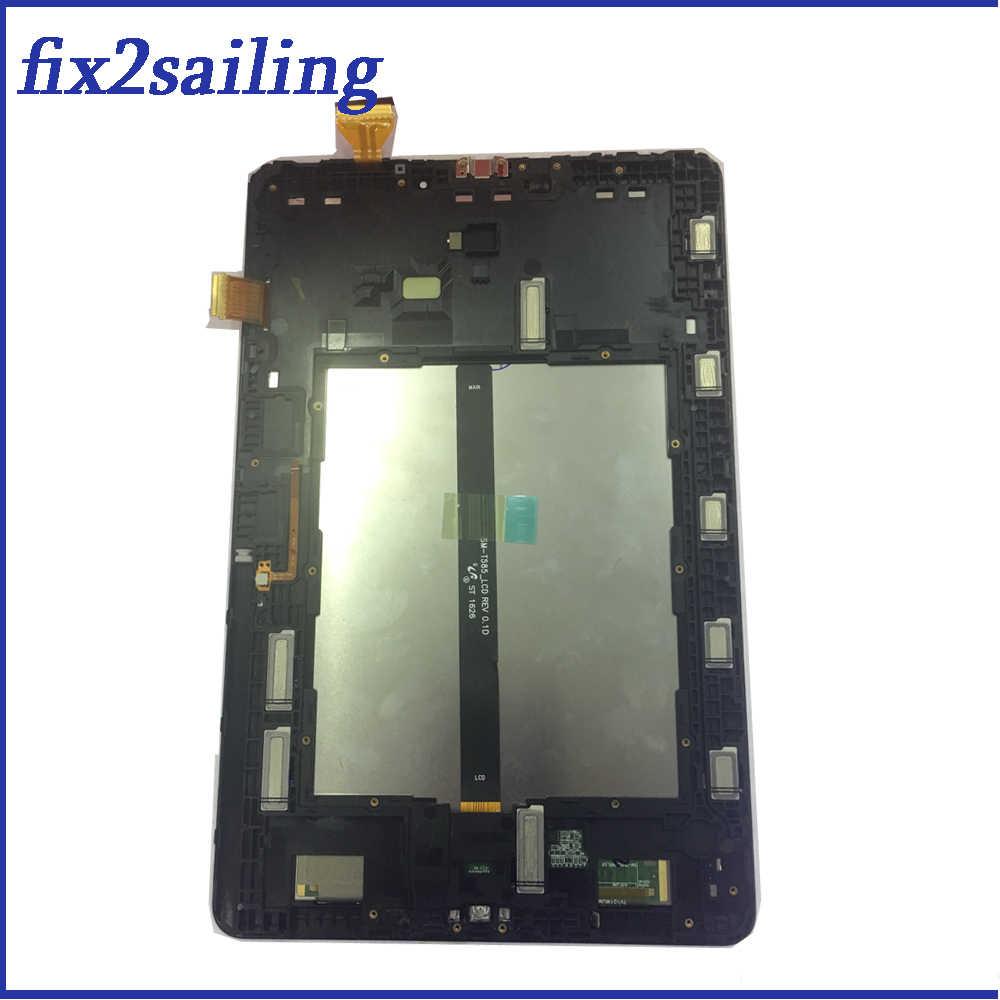 LCD ใหม่ Tab 10.1 2016 P585 จอแสดงผล Touch Screen เซ็นเซอร์ Digitizer Assembly สำหรับ Samsung Galaxy P580