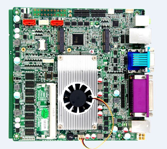 Mini ITX Mainboard,6 COM 1037U Mini ITX Motherboard,1037U Mainboard m945m2 945gm 479 motherboard 4com serial board cm1 2 g mini itx industrial motherboard 100