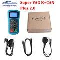 Car Styling Super vag kcan 2.0 Diagnosis Mileage Correction VAG+ K CAN Pluscode reader key programmer 2.0 super k+ can plus 2.0 Auto Key Programmers Automobiles & Motorcycles -
