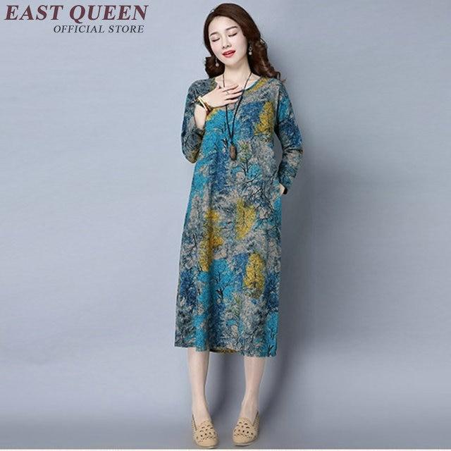 Chinesisches traditionelles kleid langarm orientalischen kleid ...