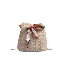 rattan en paille 2019 bolso paja verano sac femme bolsa playa feminina saco sling beach bag side mini bags small for ladies