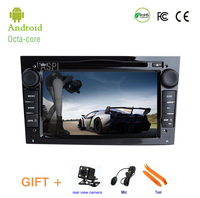 4G Android 8.0 Car DVD Player for Vauxhall Opel Astra H G J Vectra Antara Zafir,2 DIN Car GPS radio stereo Multimedia player