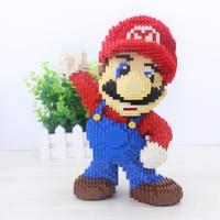 2497pcs cartoon block of diamond toy supper Mario hot sale design best kids gift