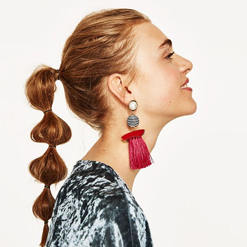 Boho Кольорові сережки для жінок - Модні прикраси - фото 6