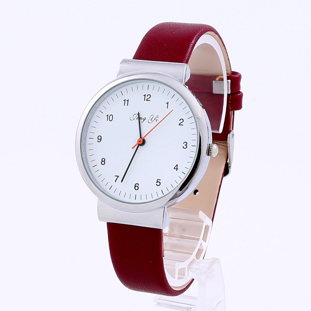 irisshine i072 lady girl watch clock brand classic women roman number quartz leather wrist watch