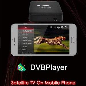 Image 5 - Hellobox Smart S2 TV récepteur jouer sur téléphone Mobile Satellite Finder Support TV jouer Hellobox B1 finder Version mise à niveau