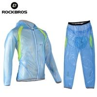 ROCKBROS Riding Bike Multifunction Raincoat Rainproof Breathable Ultralight Windcoat Men Women MTB Bike Climbing Raincoat M6406