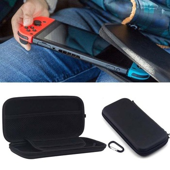 Game Console Carrying Case Protection Bag Storage Package Travel Carrying Holder Pouch Anti-Shock EVA Case For Nintendo Switch