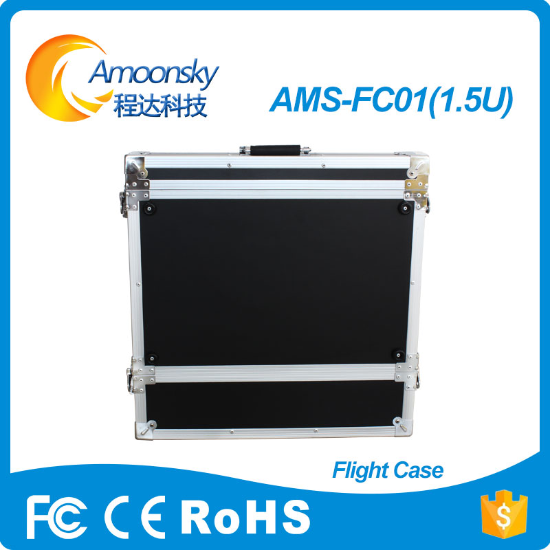 amoonsky 1.5u high quality competitive price video processor flight case in led displays 86 250mm competitive price bees wax foundation machine