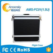 1.5u amoonsky alta qualidade preço do competidor caso do vôo em displays de led processador de vídeo