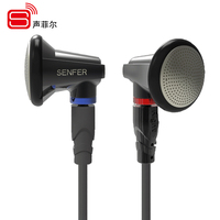 New SENFER PT15 In Ear Earphone Earburd Graphene Dynamic Driver Unit HIFI Earplhone Earplug With MMCX